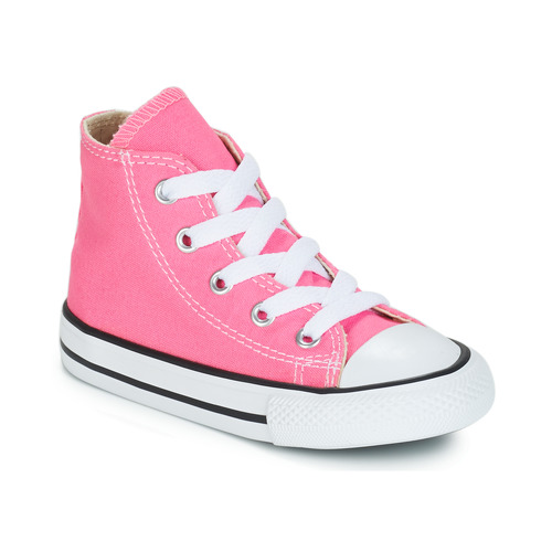 converse all star alte bambino rosa