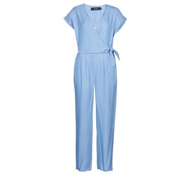 Abbigliamento Donna Tuta jumpsuit / Salopette Vero Moda VMLAURA Blu / Clair
