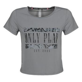 Abbigliamento Donna T-shirt maniche corte Only Play  Grigio