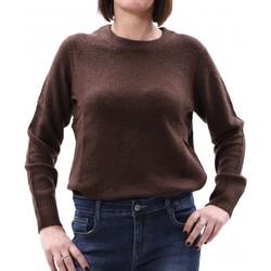 Abbigliamento Donna Maglioni Jacqueline De Yong 15176727 Marrone
