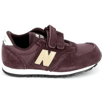 Scarpe Unisex bambino Sneakers basse New Balance IV420 BB Bordeaux Rosso