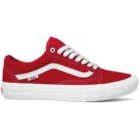 Scarpe Uomo Scarpe da Skate Vans Old skool pro Rosso