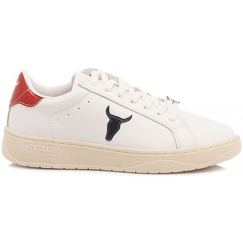 Scarpe Donna Sneakers basse Windsor Smith Sneakers Donna Galaxy Bianco bianco, rosso