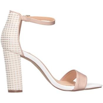 Scarpe Donna Sandali Exé Shoes LIDIA-360 Nude/bianco