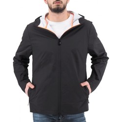 Abbigliamento Uomo Giubbotti Sunstripes Aurelio Hoody Jacket Nero  SNSAURELIO1U 004 Nero