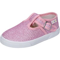 Scarpe Bambina Sneakers basse Enrico Coveri sneakers tessuto rosa