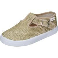 Scarpe Bambina Derby Enrico Coveri sneakers tessuto oro