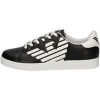 Scarpe Donna Sneakers basse Emporio Armani EA7 XSX006 XCC53 A120 nero
