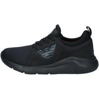 Scarpe Sneakers basse Emporio Armani EA7 X8X056 XCC56 nero