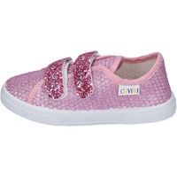 Scarpe Bambina Sneakers Enrico Coveri sneakers tessuto rosa