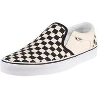 Scarpe Uomo Slip on Vans Sneaker Asher Scacchiera bianca