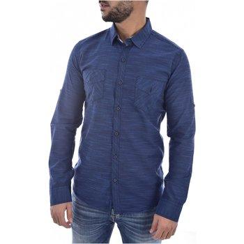 Abbigliamento Uomo Camicie maniche lunghe Goldenim Paris maniche lunghe 1022 - Uomo blu
