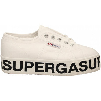 Scarpe Donna Sneakers basse Superga 2790-COTW OUTSOLE LETTERING 999-black