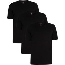 Abbigliamento Uomo T-shirt maniche corte Ted Baker T-Shirt a 3 pezzi da salotto nero