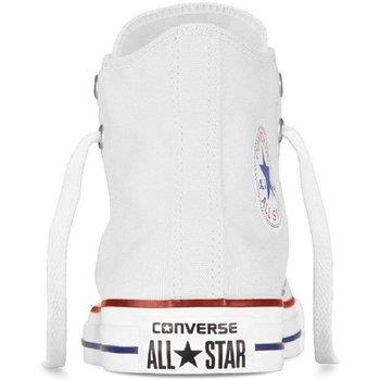 Scarpe Bambino Sneakers alte Converse Scarpe Bambino All Star HI Canvas Bianco