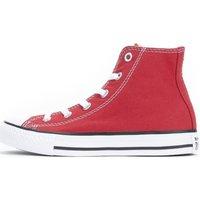 Scarpe Bambino Sneakers alte Converse Scarpe Bambino All Star HI Canvas Rosso