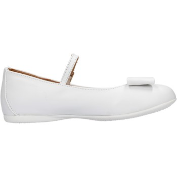 Scarpe Bambina Sneakers Platis - Ballerina bianco P2077-10 BIANCO