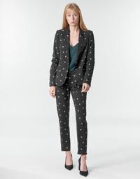 Abbigliamento Donna Pantaloni morbidi / Pantaloni alla zuava Ikks BR22125 Nero