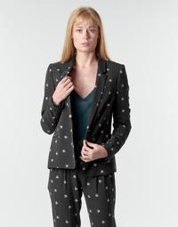 Abbigliamento Donna Giacche / Blazer Ikks BR40115 Nero