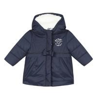 Abbigliamento Bambina Piumini 3 Pommes 3R42012-49 Marine