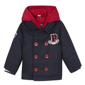 Abbigliamento Bambino Cappotti 3 Pommes 3R41023-04 Marine