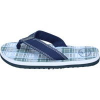 Scarpe Bambino Sandali Brooksfield sandali tela blu