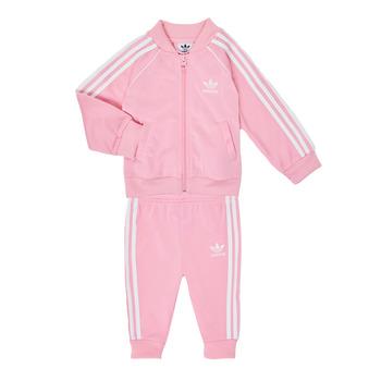 Abbigliamento Bambina Completo adidas Originals SST TRACKSUIT Rosa