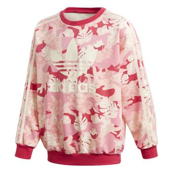 Abbigliamento Bambina Felpe adidas Originals CREW Rosa