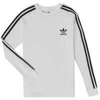 Abbigliamento Bambino T-shirts a maniche lunghe adidas Originals 3STRIPES LS Bianco