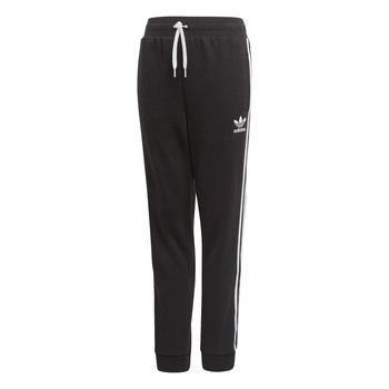 Abbigliamento Unisex bambino Pantaloni da tuta adidas Originals TREFOIL PANTS Nero
