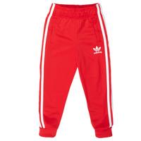 Abbigliamento Unisex bambino Pantaloni da tuta adidas Originals SST TRACKPANT Rosso