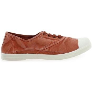 Scarpe Donna Sneakers Natural World Basket Wine 642-102E Arancio