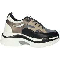 Scarpe Donna Sneakers alte Rocco Barocco RBSC4EX01 NERO/BEIGE