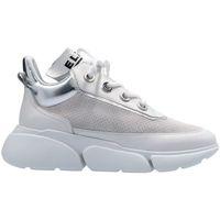 Scarpe Donna Sneakers basse Elvio Zanon EL7301X Sneaker  Donna Bianco/argento Bianco/argento