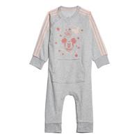 Abbigliamento Bambina Pigiami / camicie da notte adidas Performance INF DY MM ONE Bianco