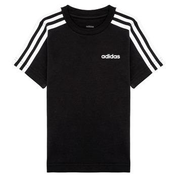 Abbigliamento Bambino T-shirt maniche corte adidas Performance YB E 3S TEE Nero