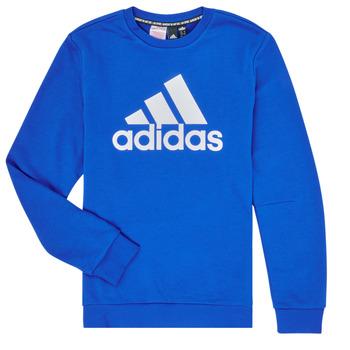 Abbigliamento Bambino Felpe adidas Performance JB MH CREW Blu