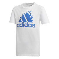 Abbigliamento Bambino T-shirt maniche corte adidas Performance JB BOS GRAPH Bianco
