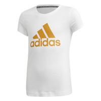Abbigliamento Bambina T-shirt maniche corte adidas Performance YG MH BOS TEE Bianco