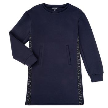 Abbigliamento Bambina Abiti corti Emporio Armani 6H3A07-1JDSZ-0920 Marine