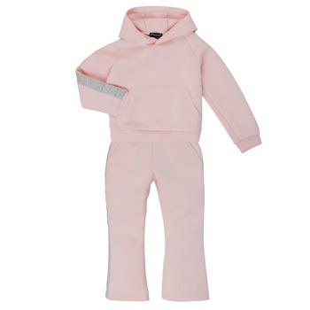 Abbigliamento Bambina Tuta Emporio Armani 6H3V01-1JDSZ-0356 Rosa