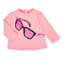 Abbigliamento Bambina T-shirts a maniche lunghe Emporio Armani 6HET02-3J2IZ-0315 Rosa