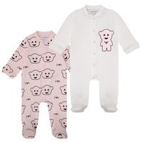 Abbigliamento Bambina Pigiami / camicie da notte Emporio Armani 6HHV06-4J3IZ-F308 Rosa