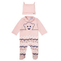 Abbigliamento Bambina Pigiami / camicie da notte Emporio Armani 6HHV08-4J3IZ-0355 Rosa