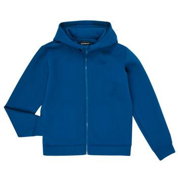 Abbigliamento Bambino Felpe Emporio Armani 6H4BJM-1JDSZ-0975 Blu