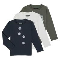 Abbigliamento Bambino T-shirts a maniche lunghe Emporio Armani 6H4D01-4J09Z-0564 Multicolore