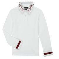 Abbigliamento Bambino Polo maniche lunghe Emporio Armani 6H4FJ4-1J0SZ-0101 Bianco