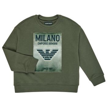 Abbigliamento Bambino Felpe Emporio Armani 6H4MM1-4J3BZ-0564 Kaki