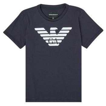 Abbigliamento Bambino T-shirt maniche corte Emporio Armani 8N4T99-1JNQZ-0939 Marine