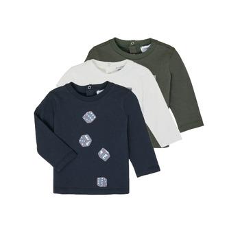 Abbigliamento Bambino T-shirts a maniche lunghe Emporio Armani 6HHD21-4J09Z-0564 Multicolore